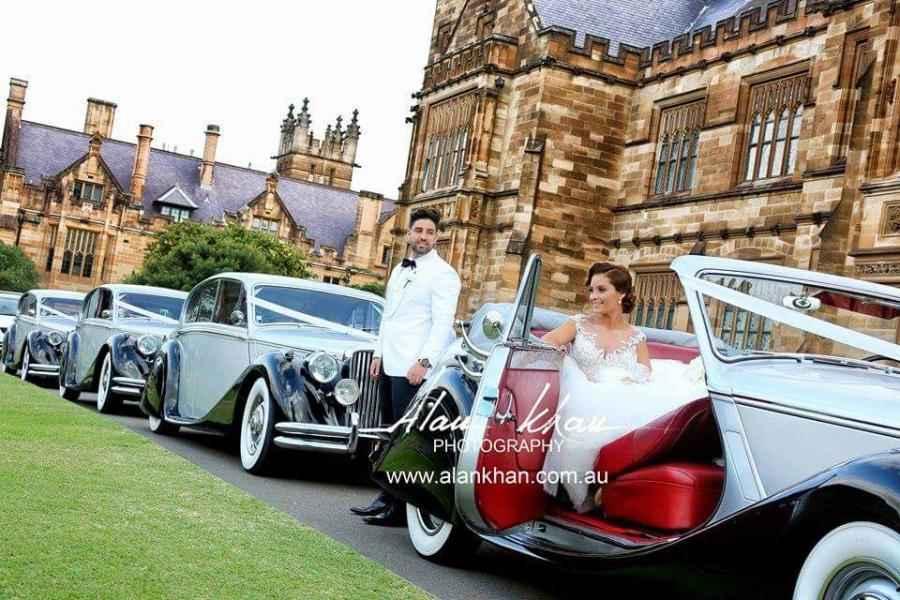 Sydney wedding cars for hire