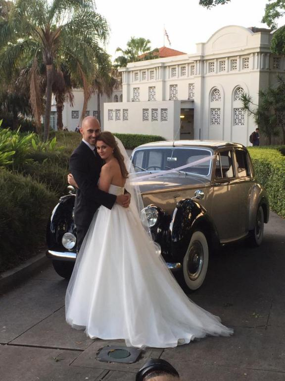 Balmoral Beach wedding cars photo