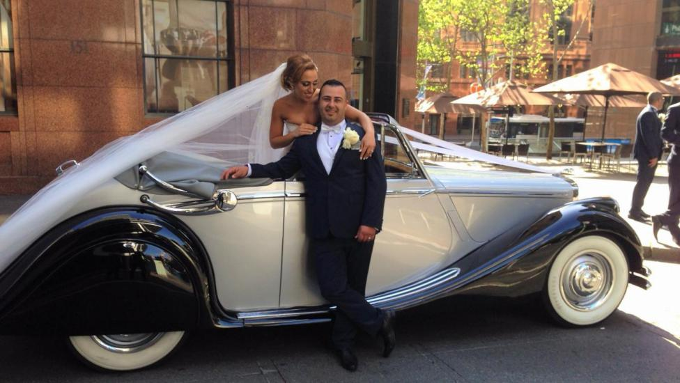 Jaguar wedding cars hire