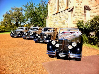 vintage wedding car hire sydney