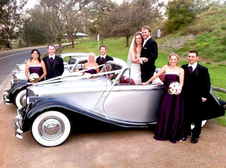 luxury wedding cars