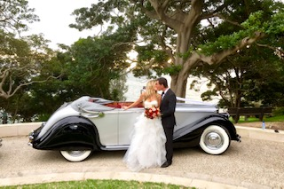 jaguar wedding cars sydney