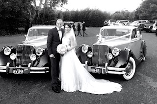 vintage bentley wedding cars