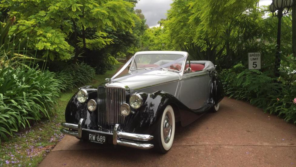 Vintage Jaguar Wedding Cars for hire in Sydney