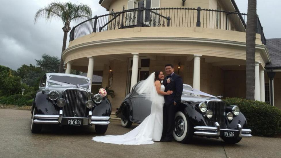 Oatlands House Jaguar Wedding cars