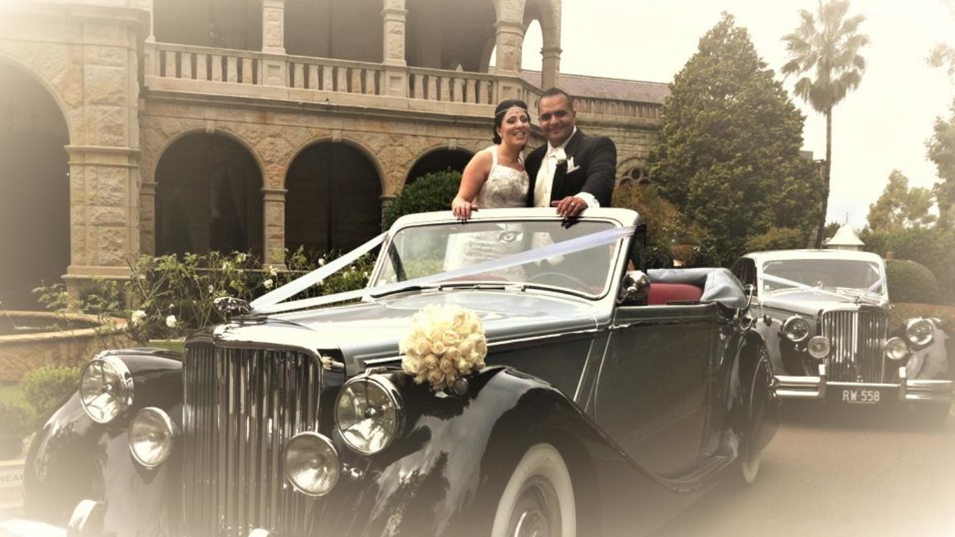 Jaguar  Wedding Car Hire Sydney