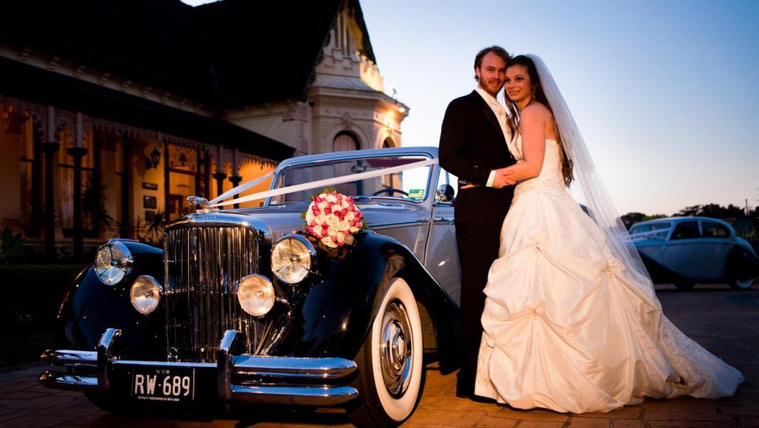 Classic Wedding Car Hire In Sydney