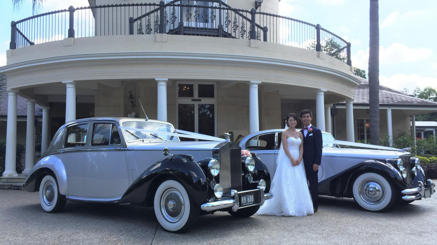 Oatlands House Wedding cars