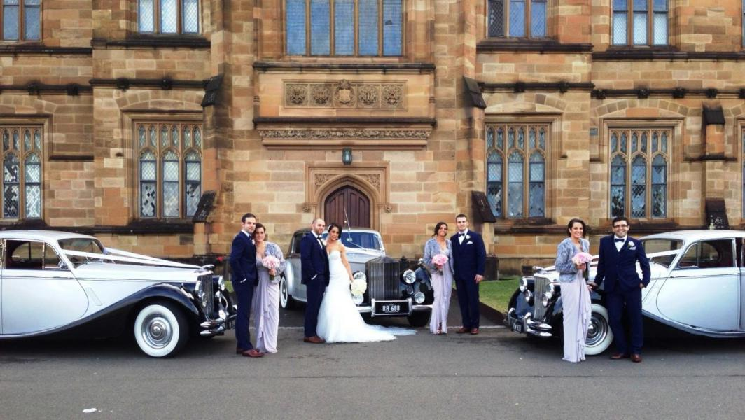 Another Great Shot At Sydney University With Our Rolls Royce And Jaguars