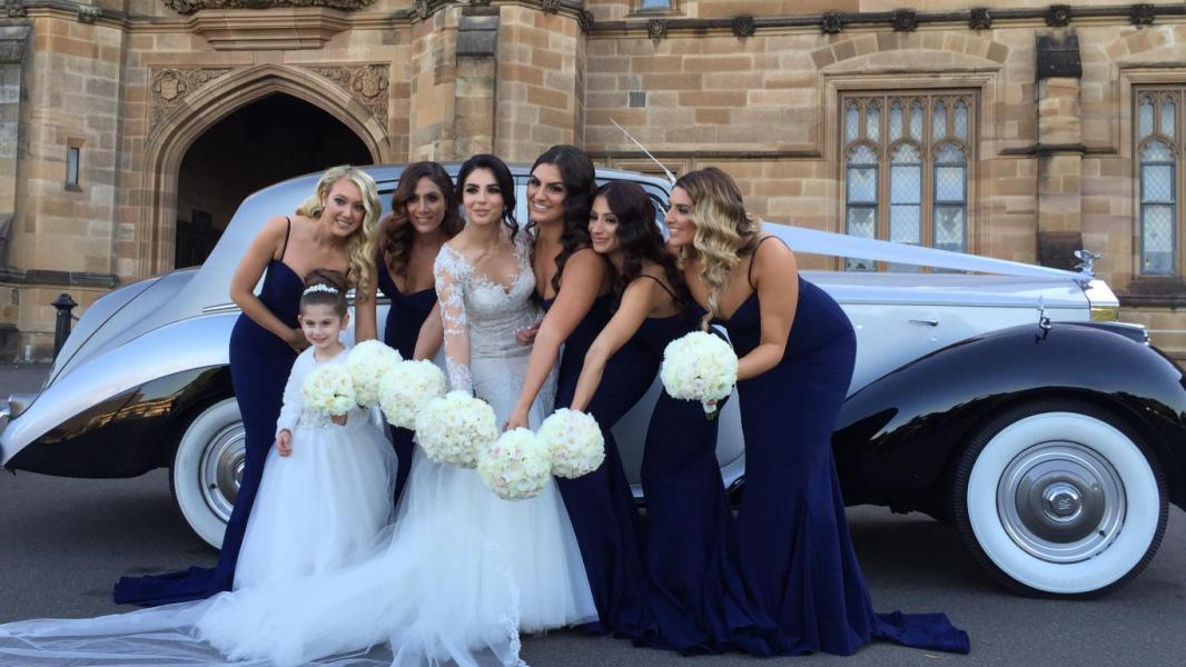 Rolls Royce bridal cars Sydney
