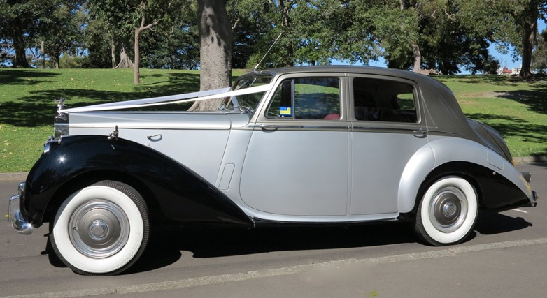 the Grande presence of the Rolls Royce