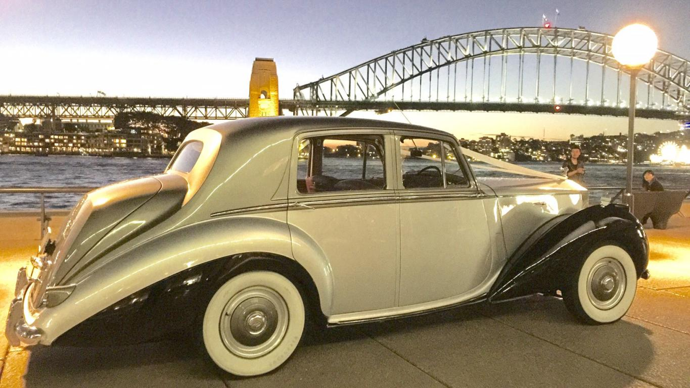 Rolls Royce hire wedding cars sydney