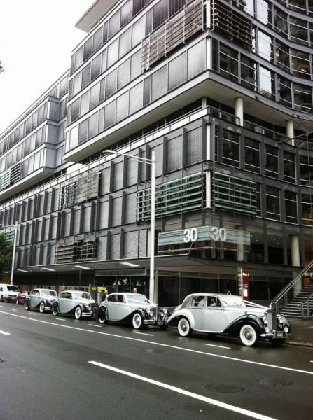 sussex st sydney wedding cars