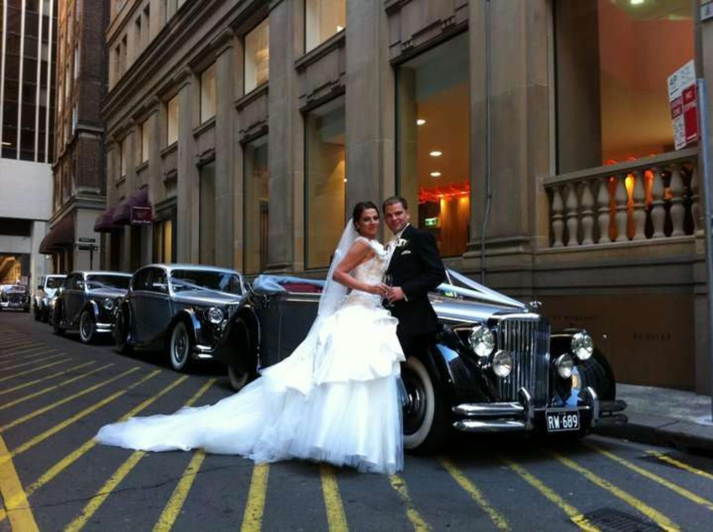 wedding cars in sydney back streets