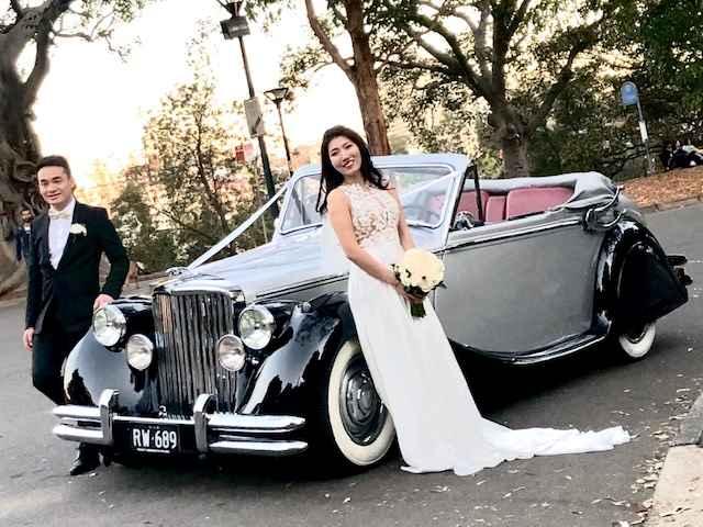 Vintage Wedding Car hire Sydney