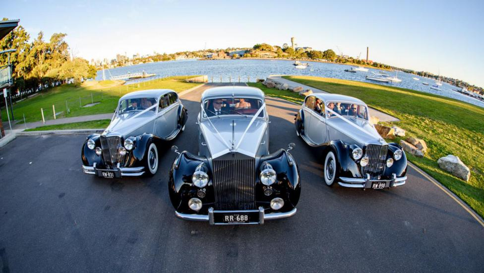 Vintage Cars in Hunters Hill, Sydney