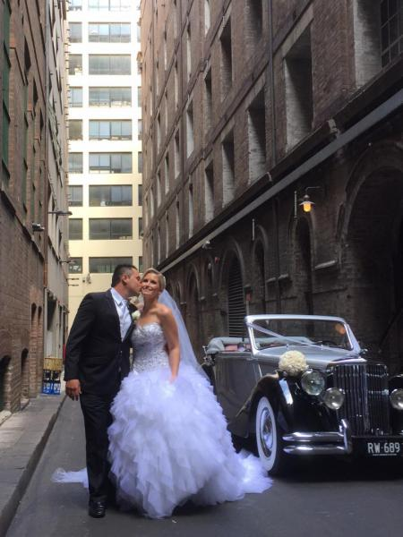 Bridge Lane, Sydney Bride